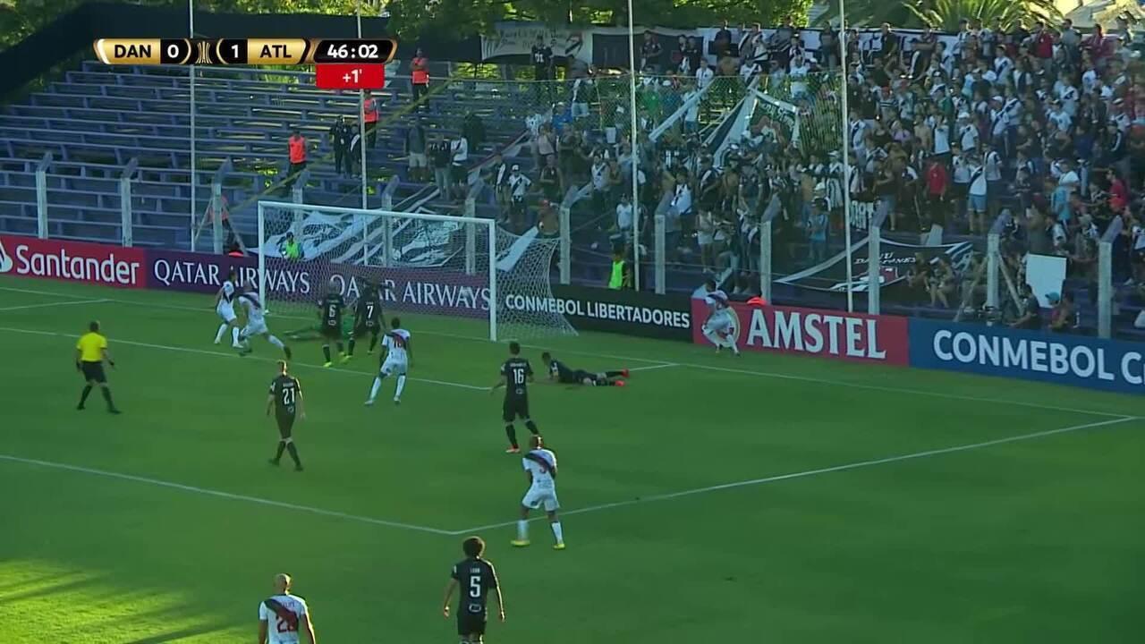 Melhores momentos: Danúbio 2 x 2 Atlético-MG pela Libertadores 2019