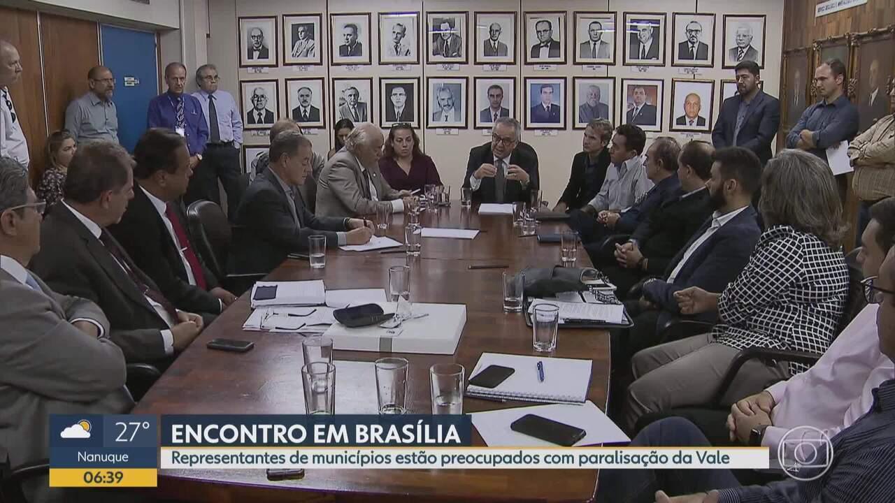 Amig a ANM se reúnem em Brasília para discutir soluções após rompimento de barragem em MG