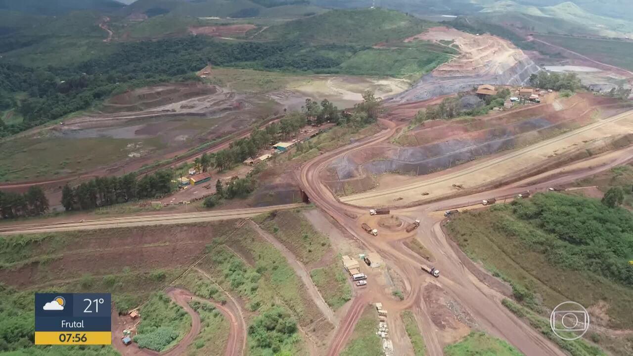 Fiscais da Agência Nacional de Mineração fiscalizam três barragens da Vale em Ouro Preto