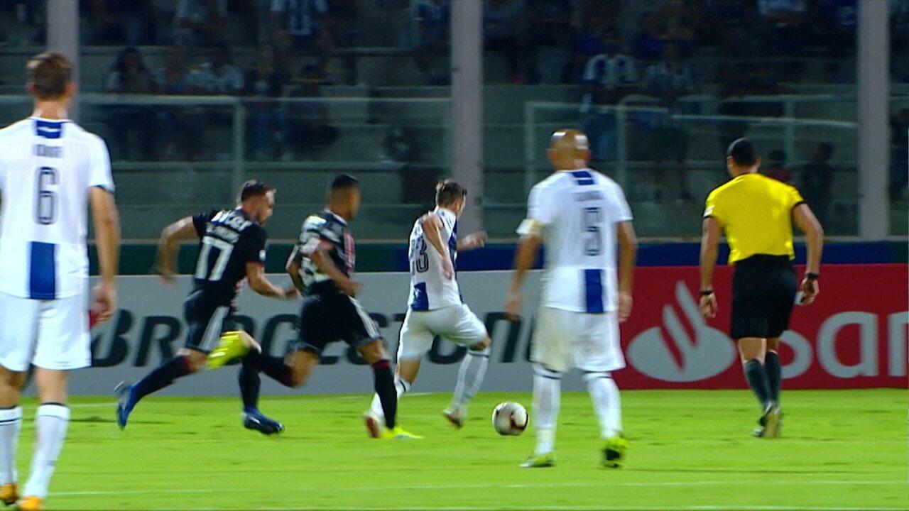 Melhores momentos de Talleres 2 x 0 São Paulo pela Taça Libertadores