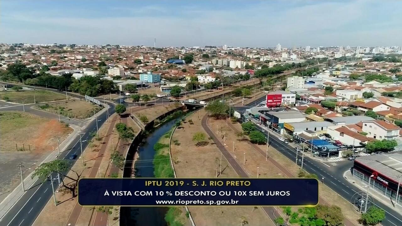Prefeitura começa a enviar carnês do IPTU 2019 em Rio Preto