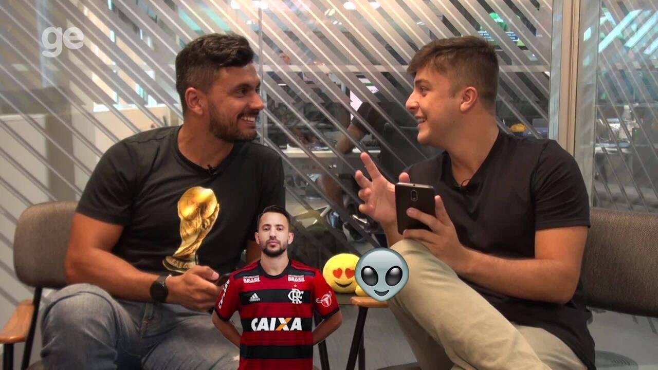 Boletim do Flamengo escolhe emojis para jogadores do Flamengo