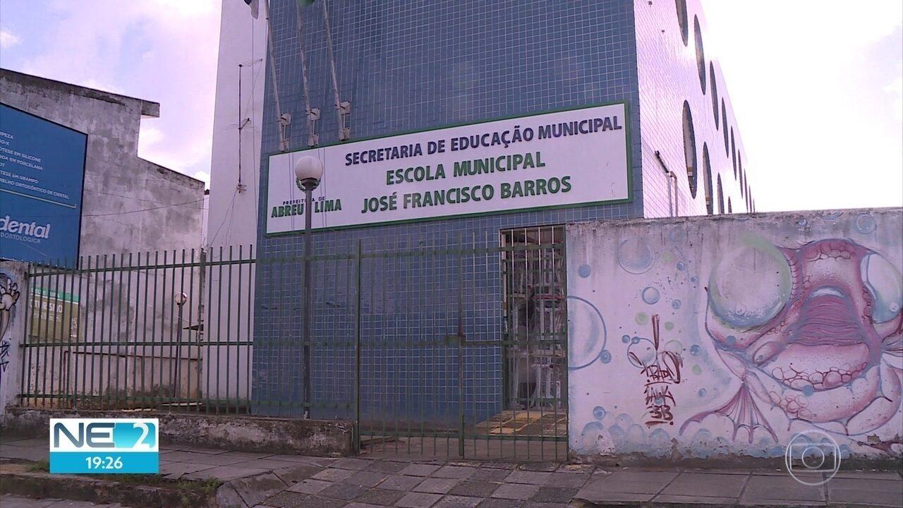 Mais de 6 mil estudantes de Abreu e Lima têm início de aulas adiado