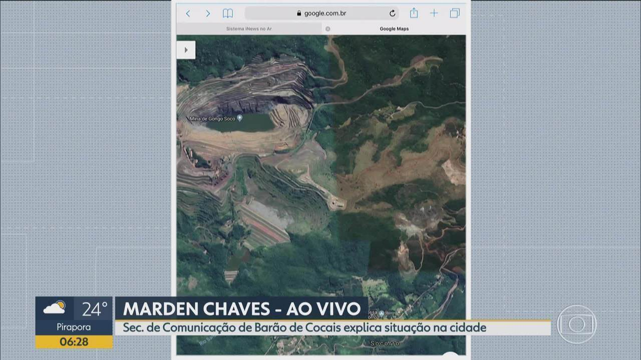 Secretário de Comunicação de Barão de Cocais fala ao Bom Dia Minas