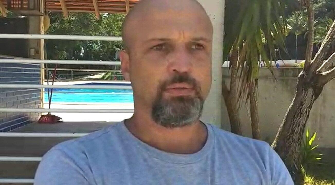 Marcelo Lanznaster lamenou a morte do primo