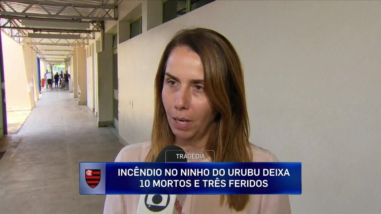 Patrícia Amorim fala sobre conversa com os sobreviventes que estão no hospital