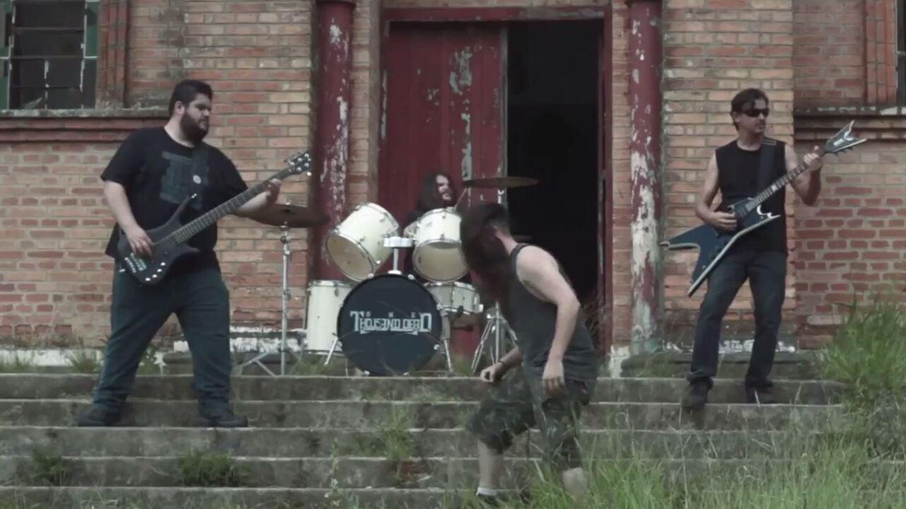 Banda de Trash Metal escolhe Gália como cenário para clipe