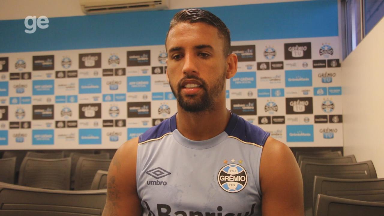 a58e8493c6 Michel comemora sucesso em dois anos de Grêmio e se declara