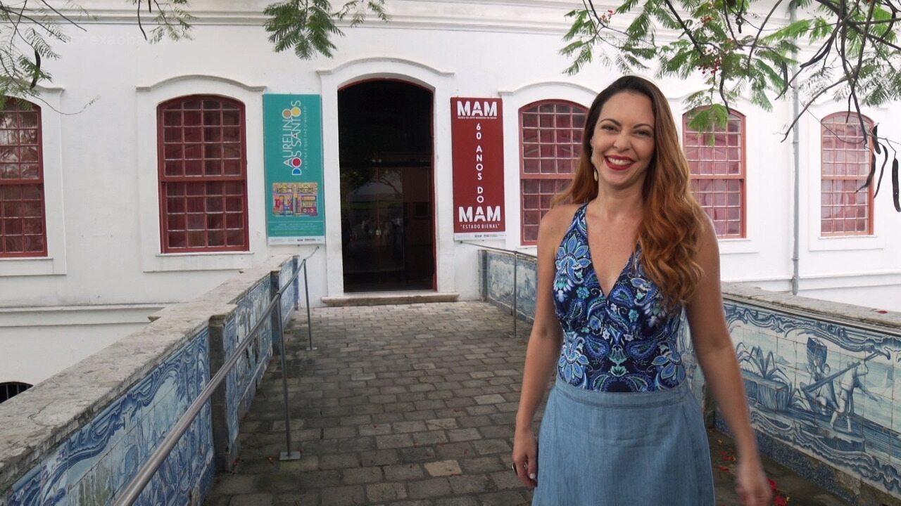 Briza faz um passeio pelo MAM-BA, que celebra 60 anos unindo cultura, memória e lazer