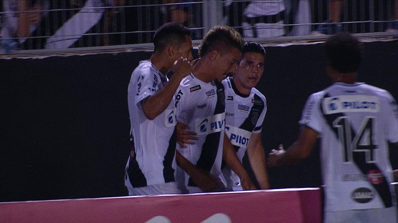 O gol de Ponte Preta 1 x 0 São Paulo pela 6ª rodada do Campeonato Paulista