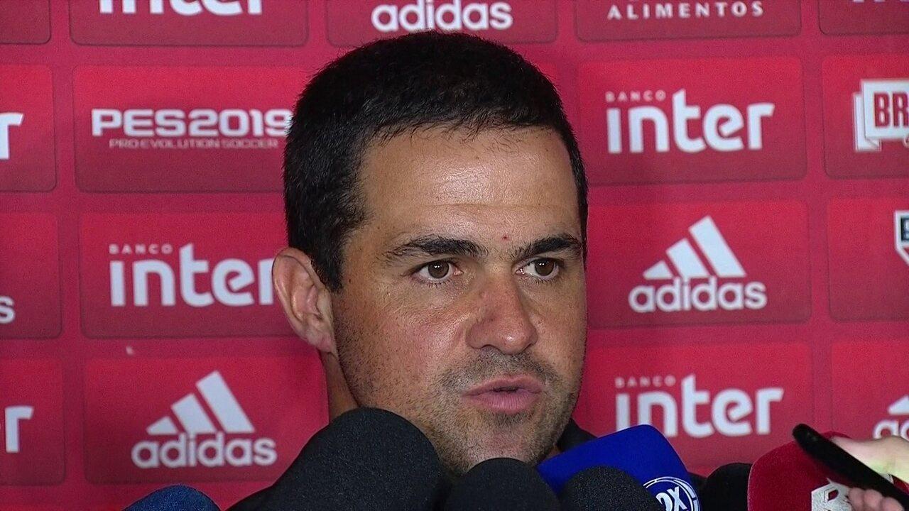 Veja a entrevista coletiva de André Jardine após derrota do São Paulo