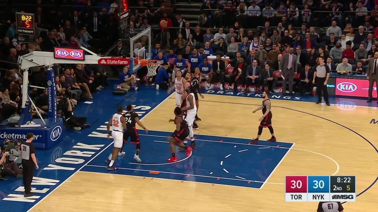 Melhores momentos: Toronto Raptors 104 x 99 New York Knicks