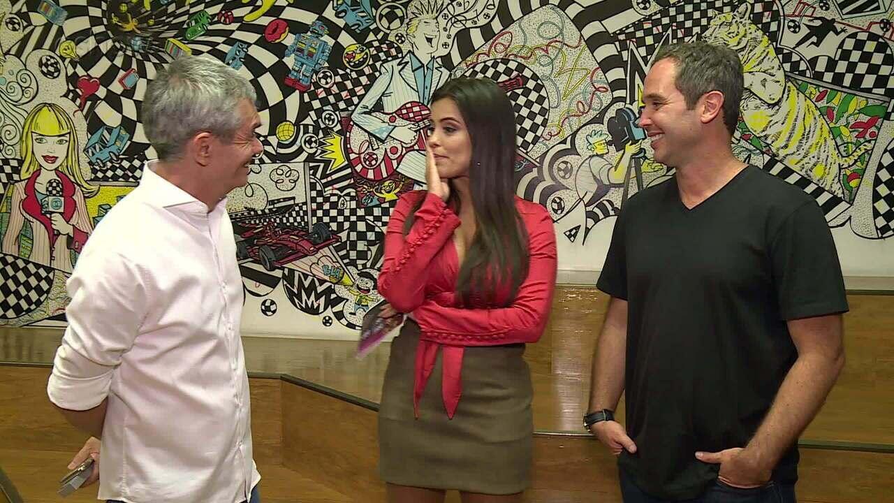 Caio Ribeiro e Serginho Groisman falam sobre vitória no 'Super Ding Dong'