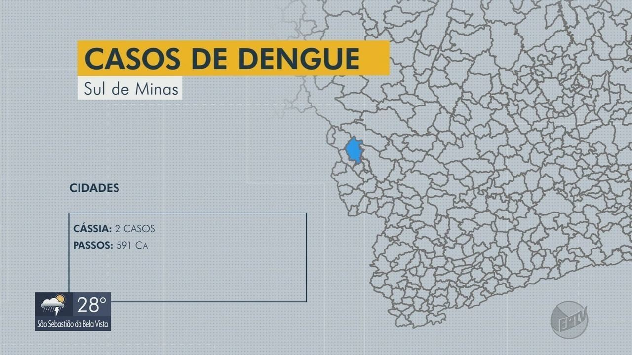 Prefeitura de Cássia decreta estado de alerta devido a casos de dengue em cidades vizinhas