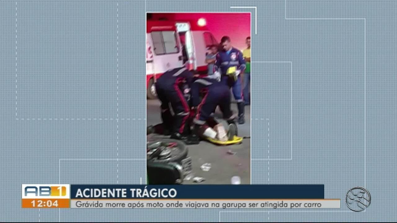 Mulher grávida morre após sofrer acidente e dar à luz em Caruaru
