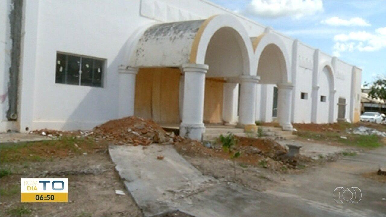 Centro Cultural de Gurupi está quase pronto mas sem data prevista para entrega