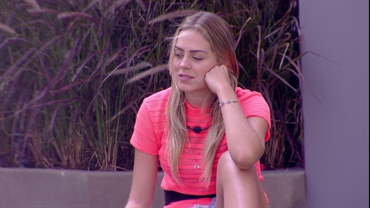 Isabella fala sobre atitudes de sister: 'As pessoas estão vendo'