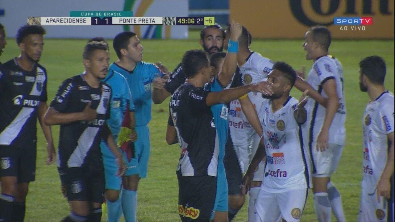 Os melhores momentos de Aparecidense 1x0 Ponte Preta, pela primeira fase da Copa do Brasil