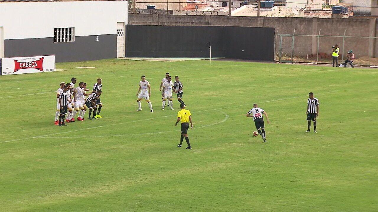 Sobradinho vence o Bolamense na quarta rodada do Campeonato Brasiliense