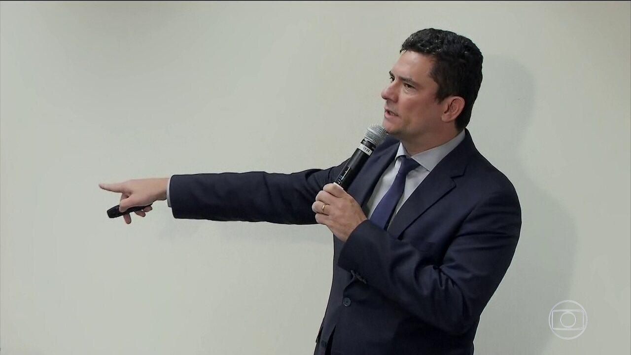 Sérgio Moro diz que projeto anticrime deve ser entregue ao Congresso na semana que vem
