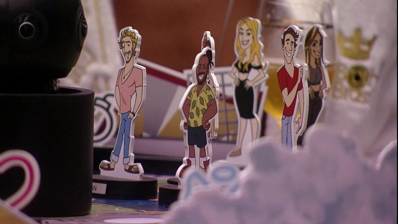 Danrley coloca avatares de Rodrigo, Tereza e Maycon entre 'ameaçados'