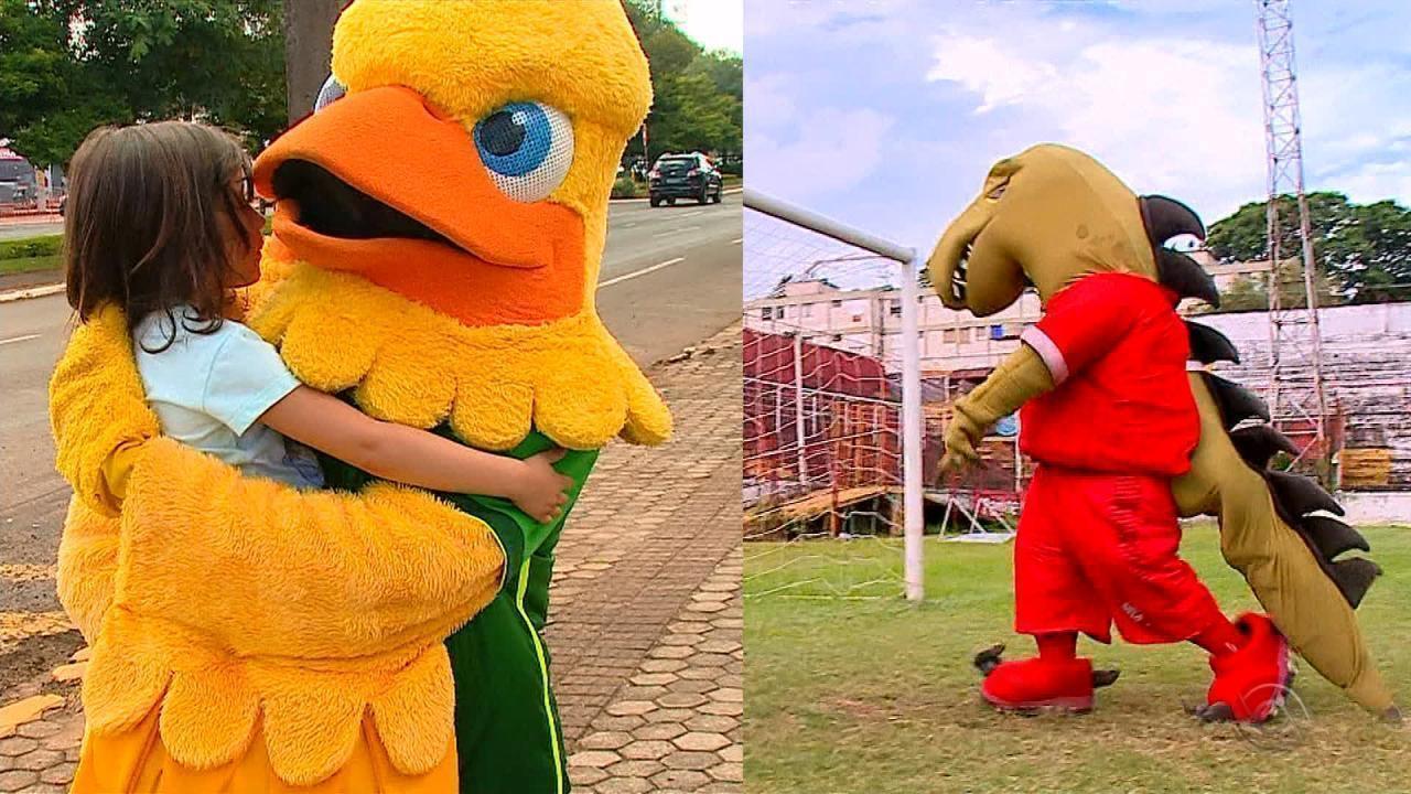 Conheça os mascotes da segunda divisão do futebol gaúcho, que começa neste sábado