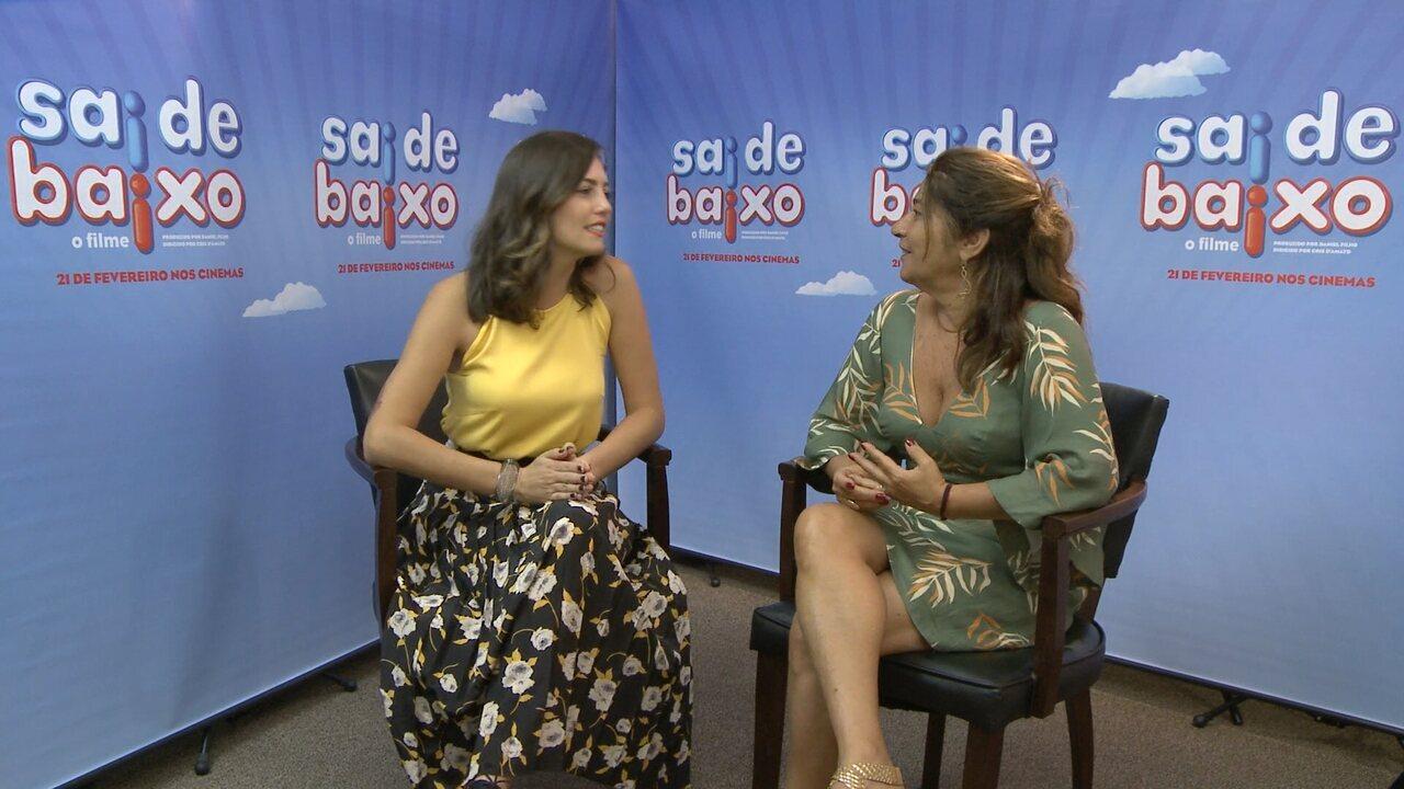 Diretora do filme 'Sai de Baixo' conversa com Camila Barbieri