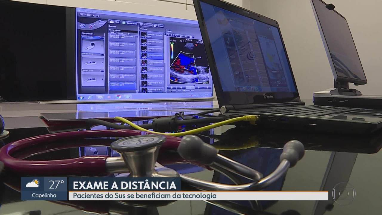 Telemedicina permite a análise online de exames
