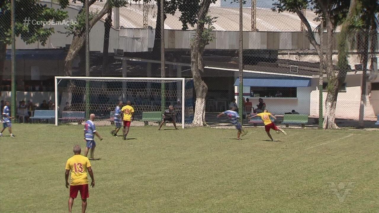 Veteranos de Jabaquara e Saldanha se reúnem para jogar amistoso em Santos