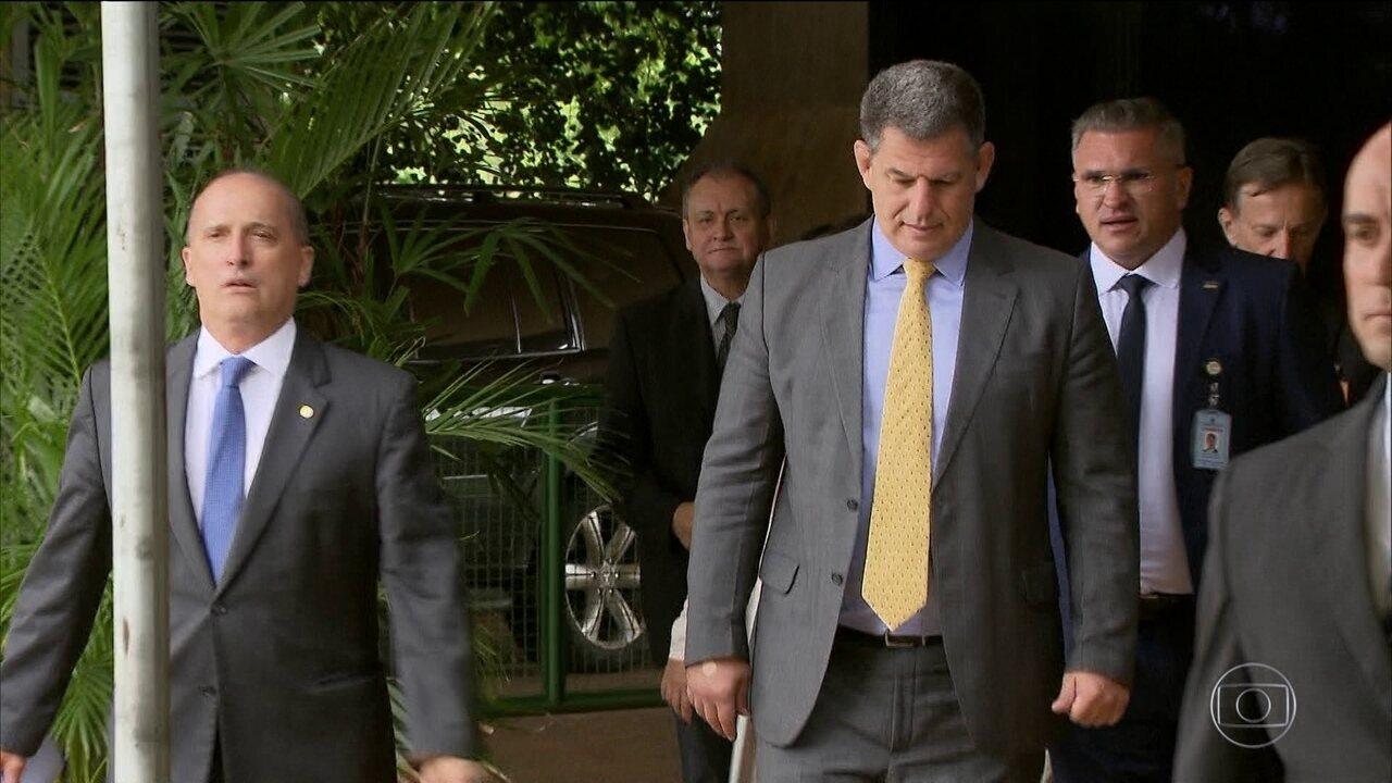Ministro Gustavo Bebianno admite que a tendência é ser exonerado