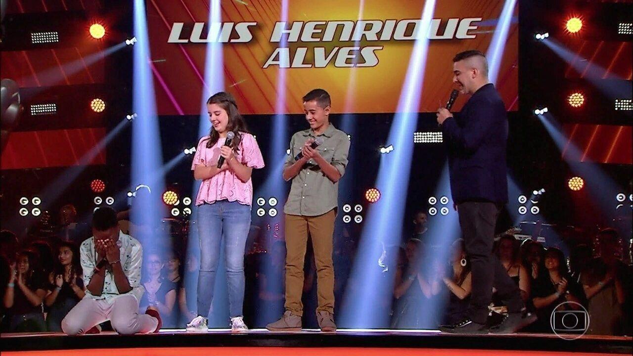 Luis Henrique Alves foi o vencedor da primeira etapa de batalhas do time Brown