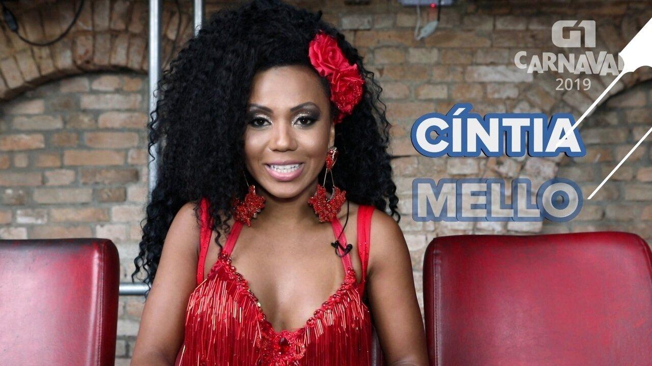 VEJA VÍDEO:Cíntia Mello é a rainha da Acadêmicos do Tucuruvi