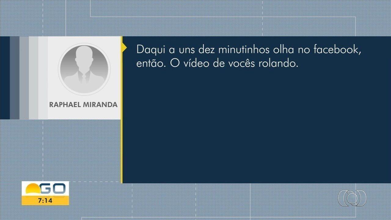 Suspeito de assalto ameaça divulgar vídeo de funcionária nua se não receber dinheiro