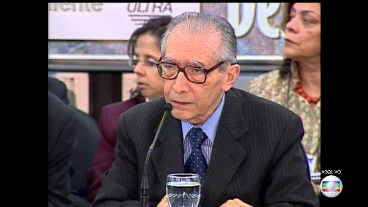 Morre no Rio o ex-ministro João Paulo dos Reis Velloso