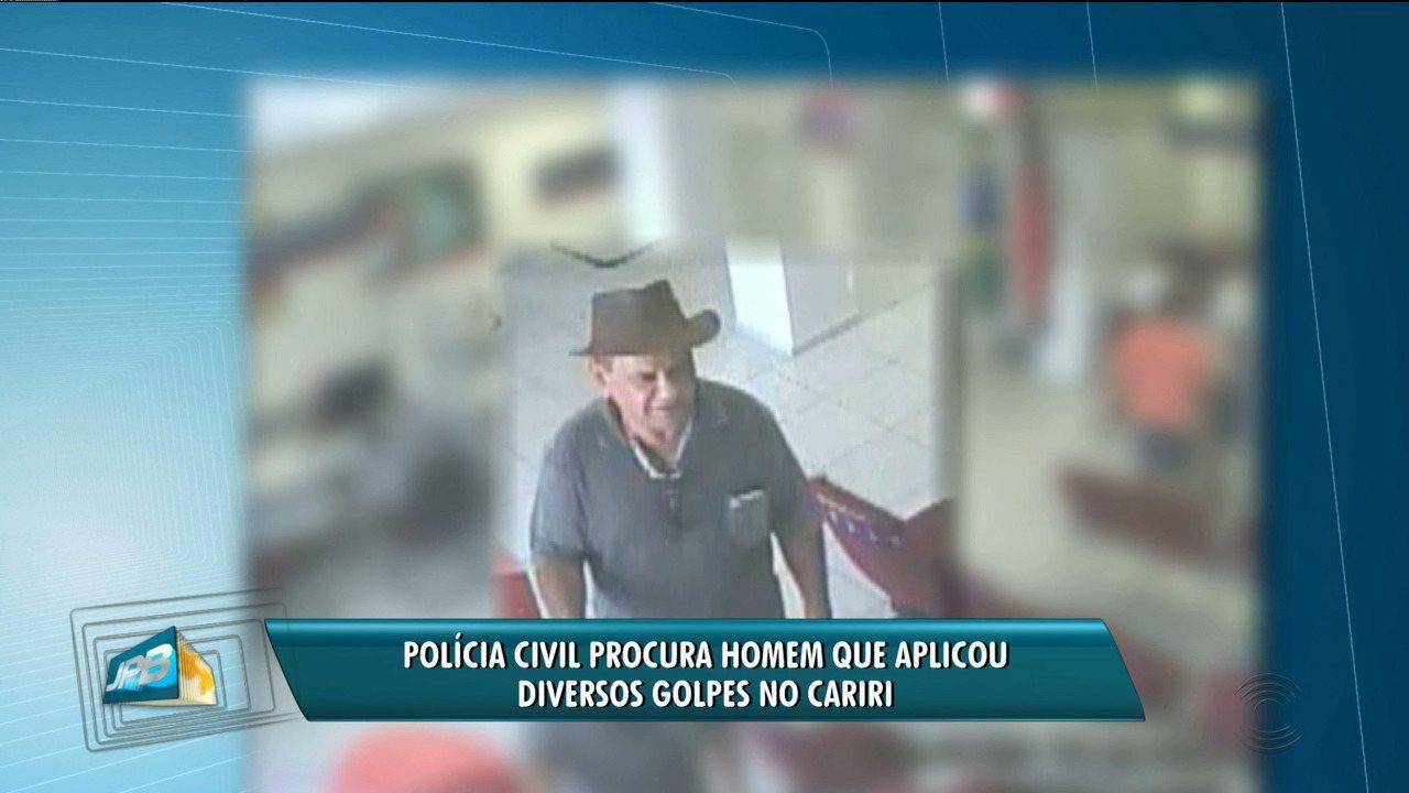 Polícia procura estelionatário que aplicou diversos golpes no Cariri