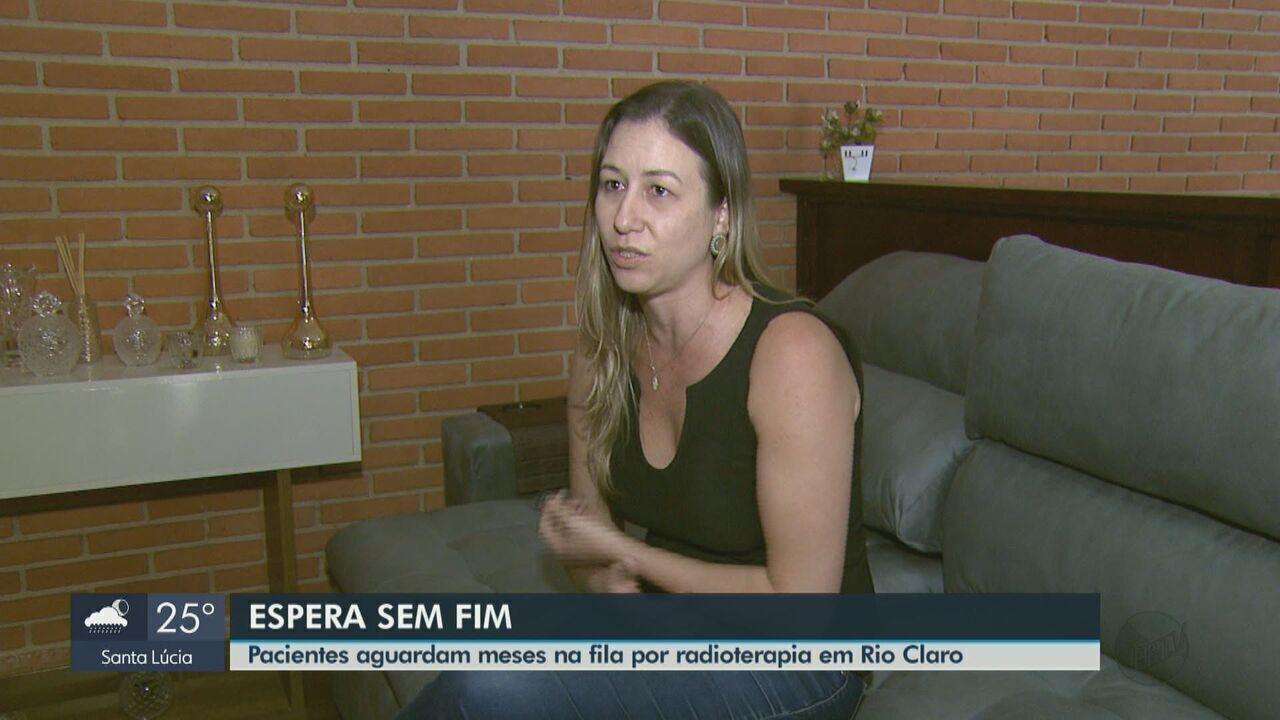 Pacientes aguardam meses na fila por radioterapia em Rio Claro