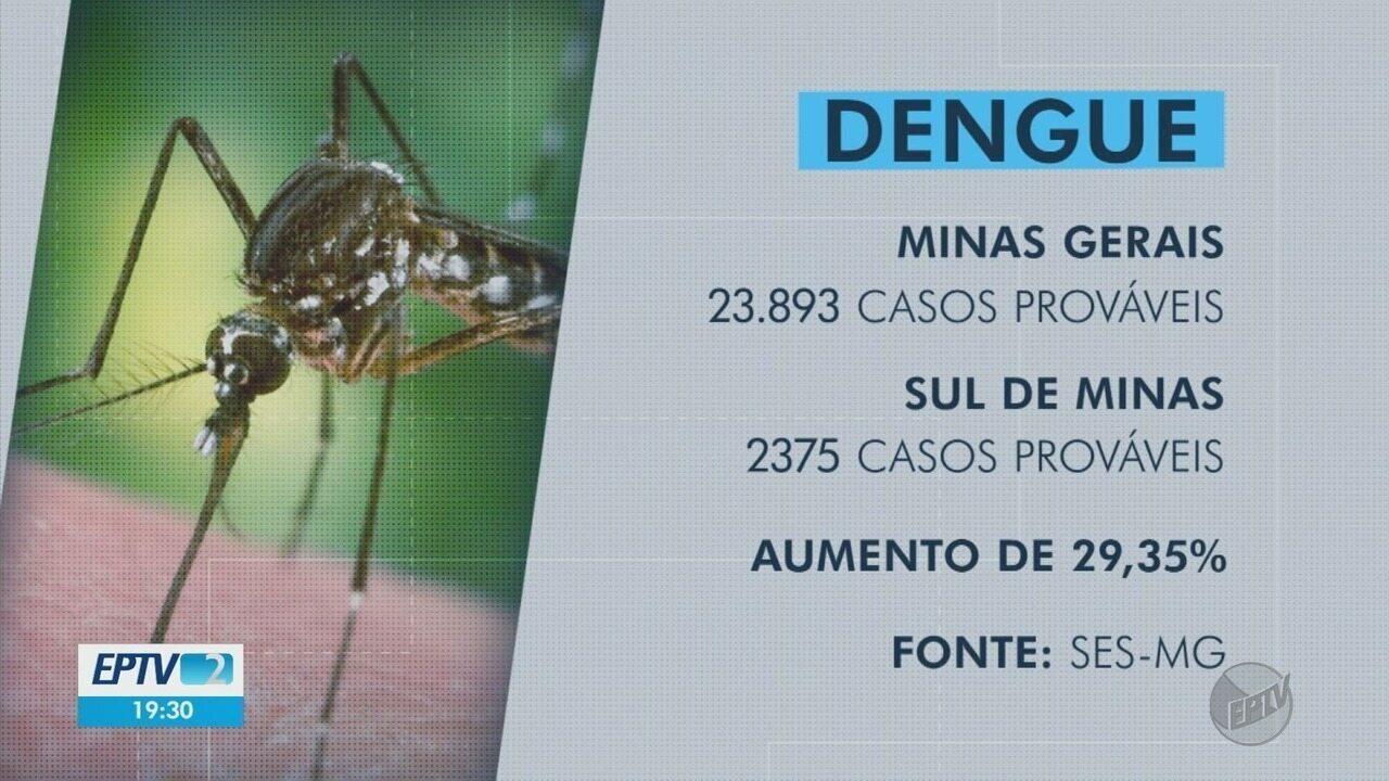 Número de casos prováveis de dengue aumenta quase 30% em apenas 1 semana no Sul de Minas
