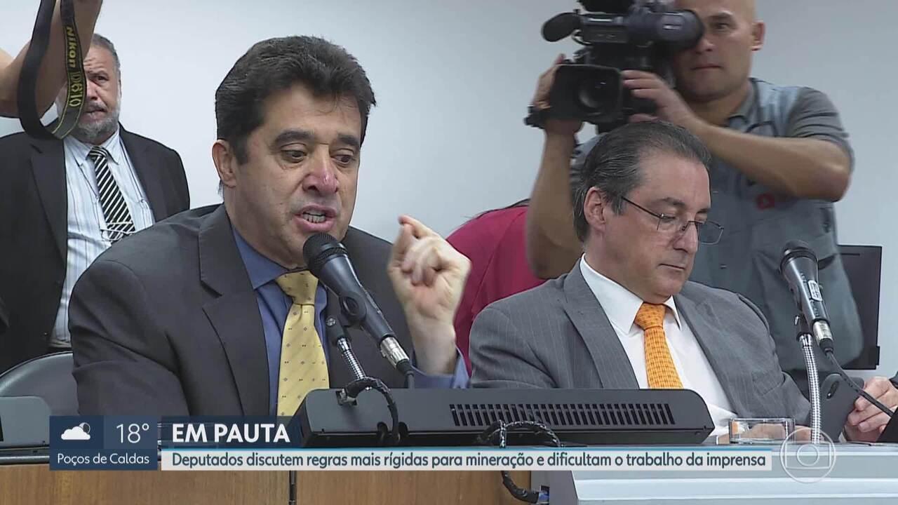 Assembleia Legislativa de Minas Gerais proíbe acesso de jornalistas na entrada do plenário