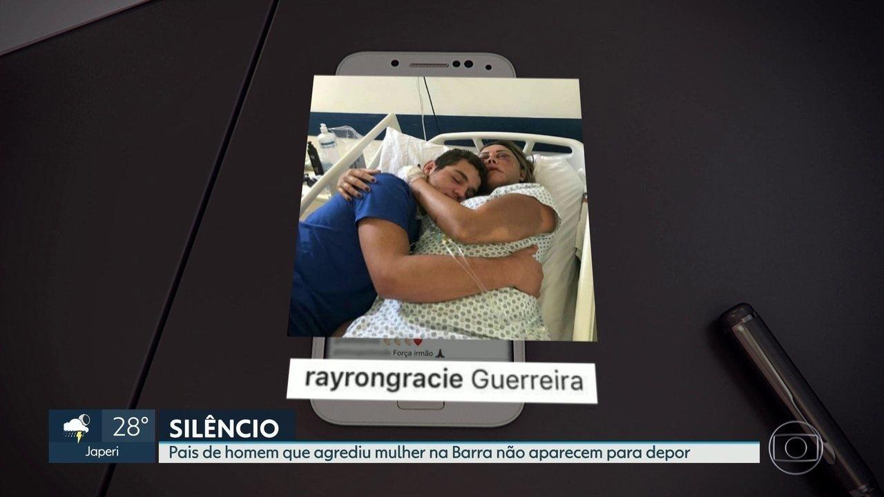 Pais de homem que espancou paisagista na Barra da Tijuca não aparecem para depoimento