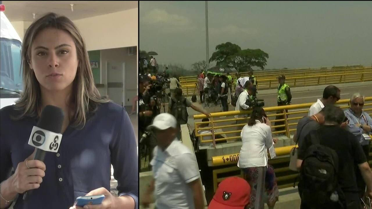 Treze pessoas ficam feridas em confrontos na fronteira com o Brasil