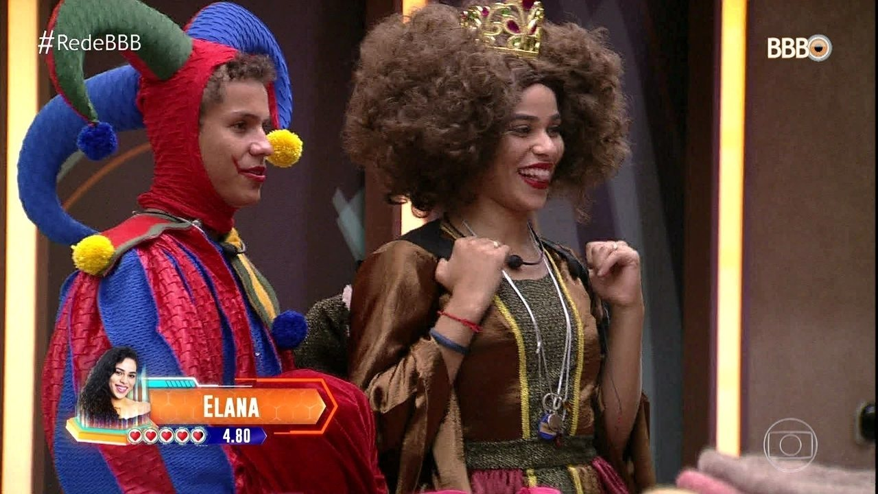 Isabella coloca Elana e Danrley no 'Castigo do Monstro'