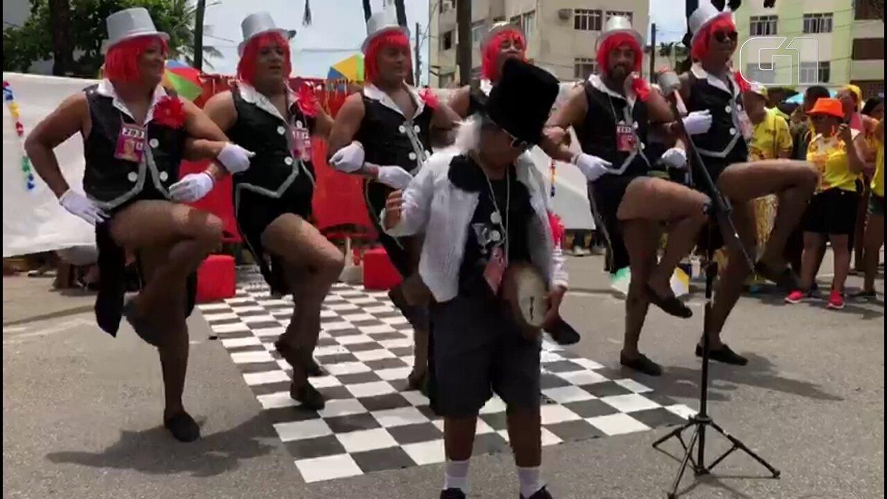 Virgens do Bairro Novo homenageiam Cassino do Chacrinha no carnaval de Olinda