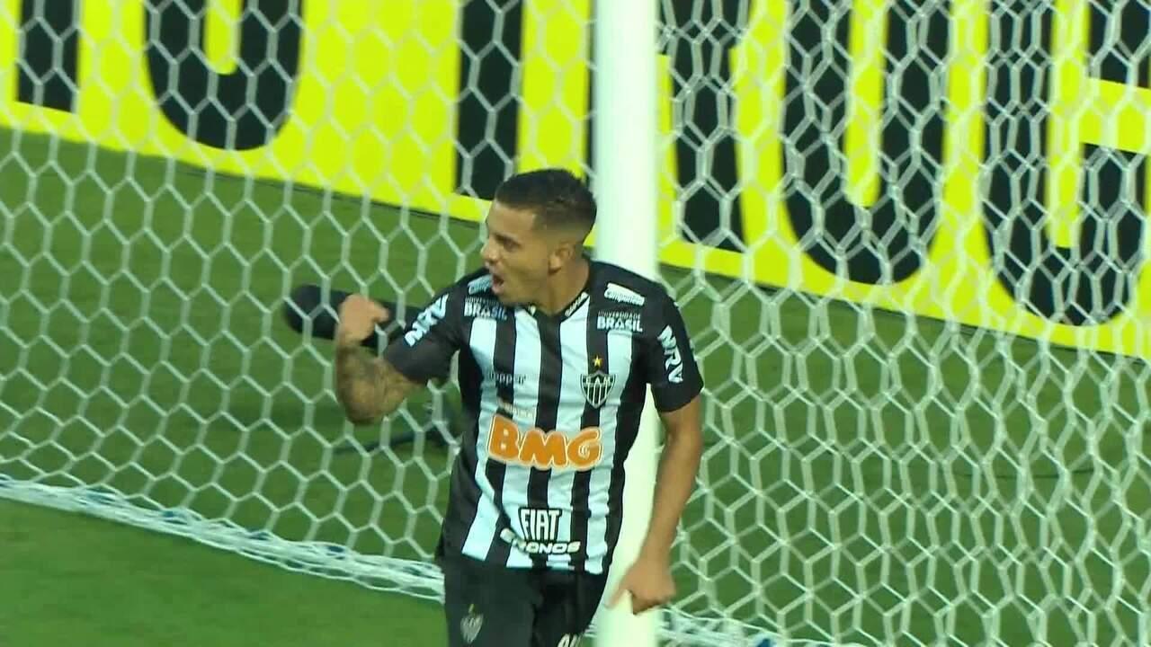 Os gols de Atlético-MG 3 x 1 Villa Nova, pela 8ª rodada do Campeonato Mineiro