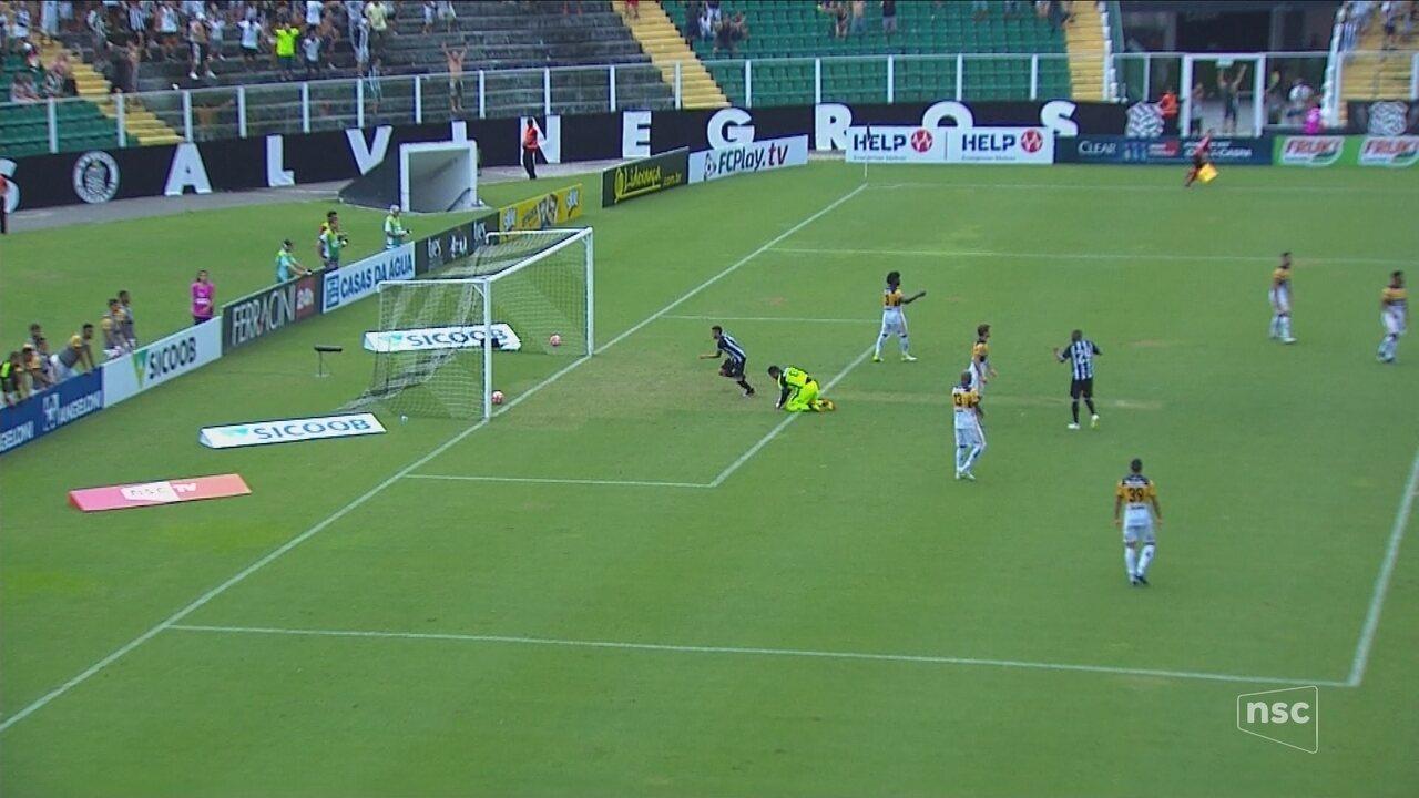 Gols de Figueirense 1 x 1 Criciúma - Catarinense 2018