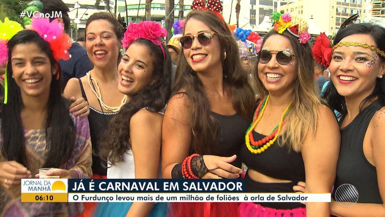A folia já começou: Furdunço leva mais de um milhão de pessoas ao pré-carnaval de Salvador