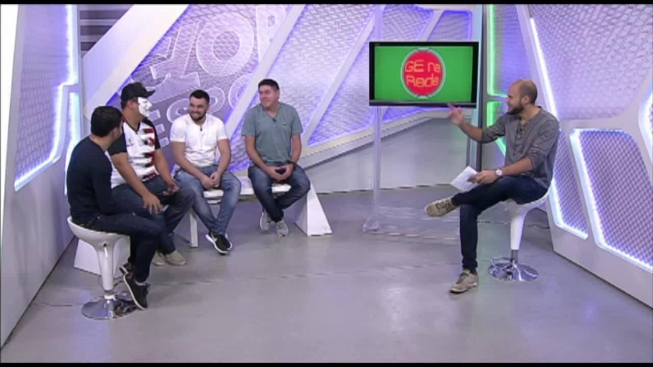 GE na Rede: veja a íntegra do programa com Robgol e Futebol Zueiro