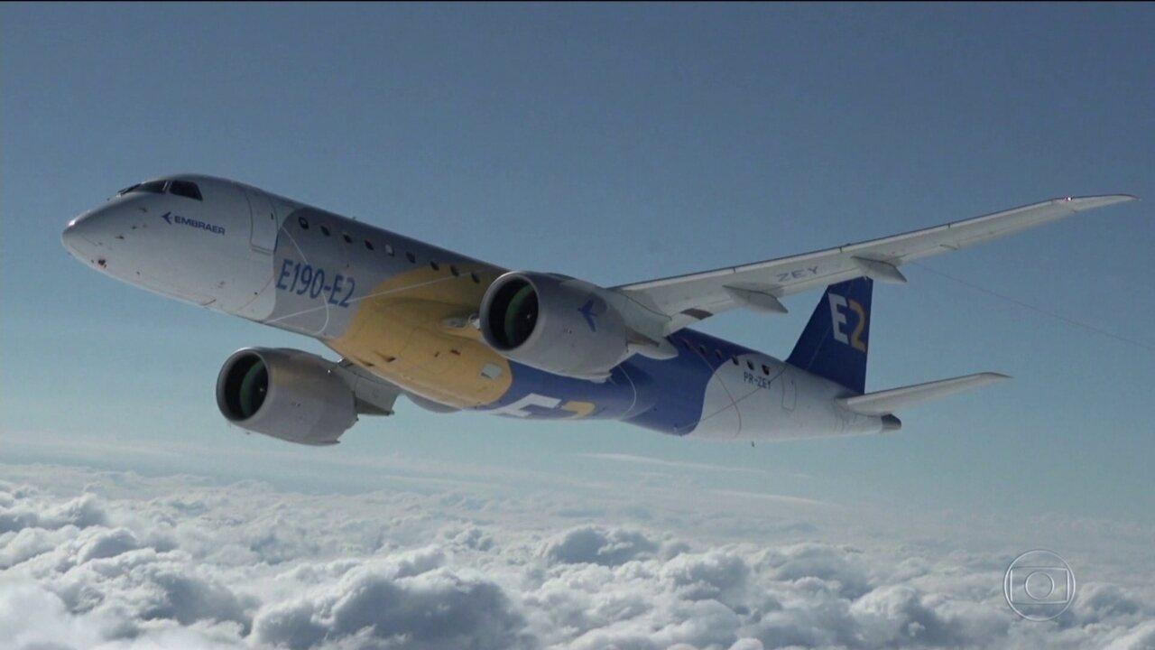 Acionistas da Embraer aprovam acordo com a Boeing