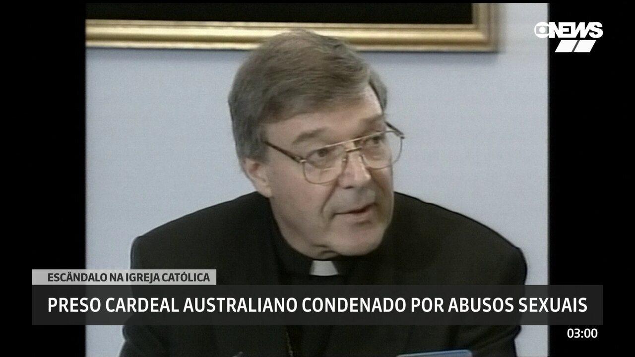 Cardeal australiano condenado por abuso sexual é preso