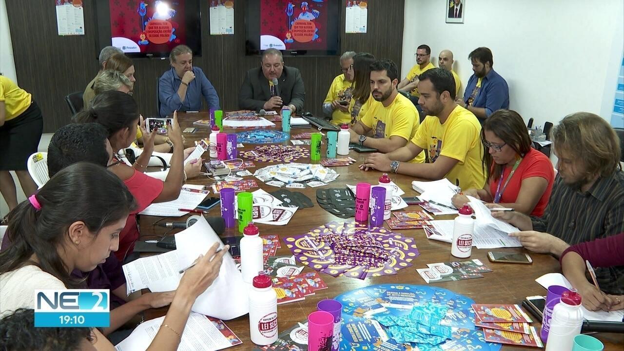 Saúde é reforçada durante o carnaval em Pernambuco