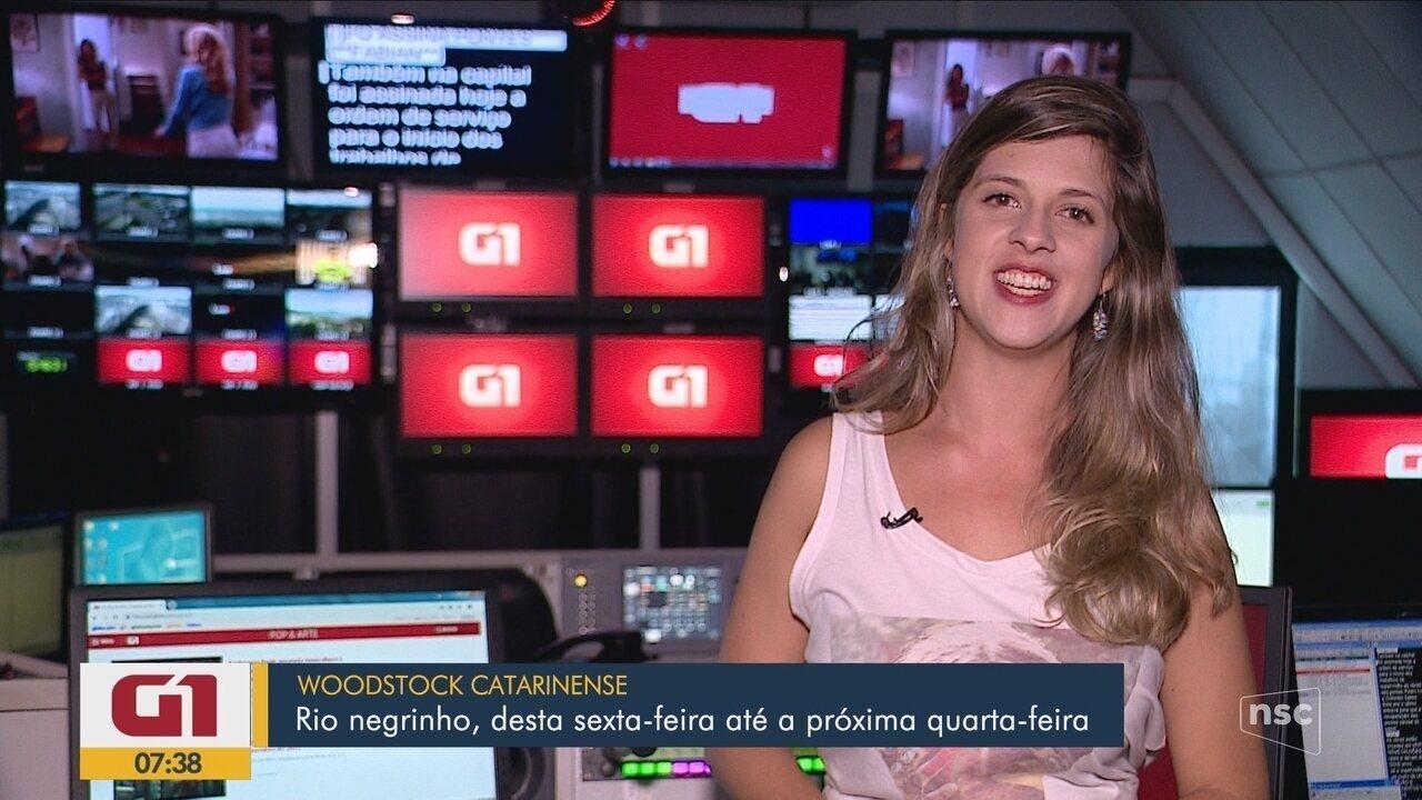 Agenda cultural e os destaques do G1 Santa Catarina desta sexta-feira (1º)